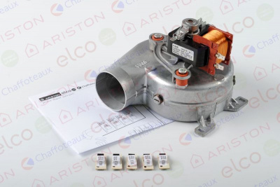 Фото Вентилятор ARISTON Microgenus PLUS 24-28 FF 65100691 geizer.com.ua